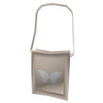 Tote Bag Cream Butterfly Roblox